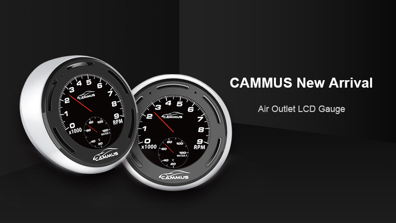 Cammus Air Outlet LCD Gauge To Come With Touching Function