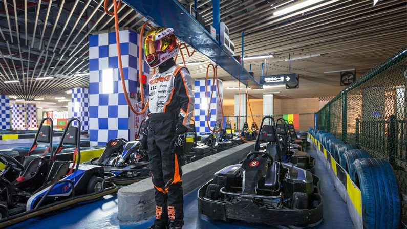 The Story of A High School Go Kart Racer